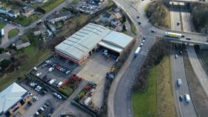 Bradford Site Aerial Photo
