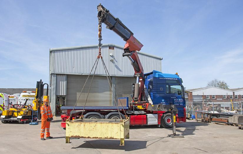 Compliant crane testing