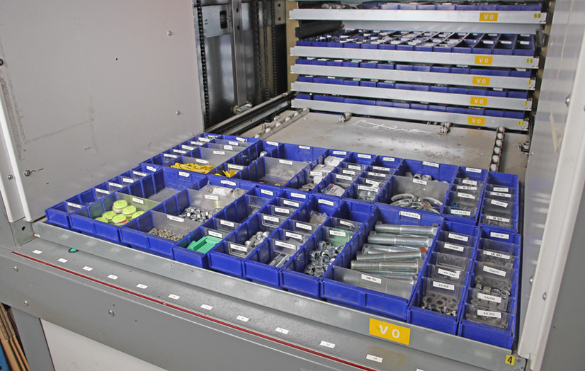 Megalift Tray of Parts
