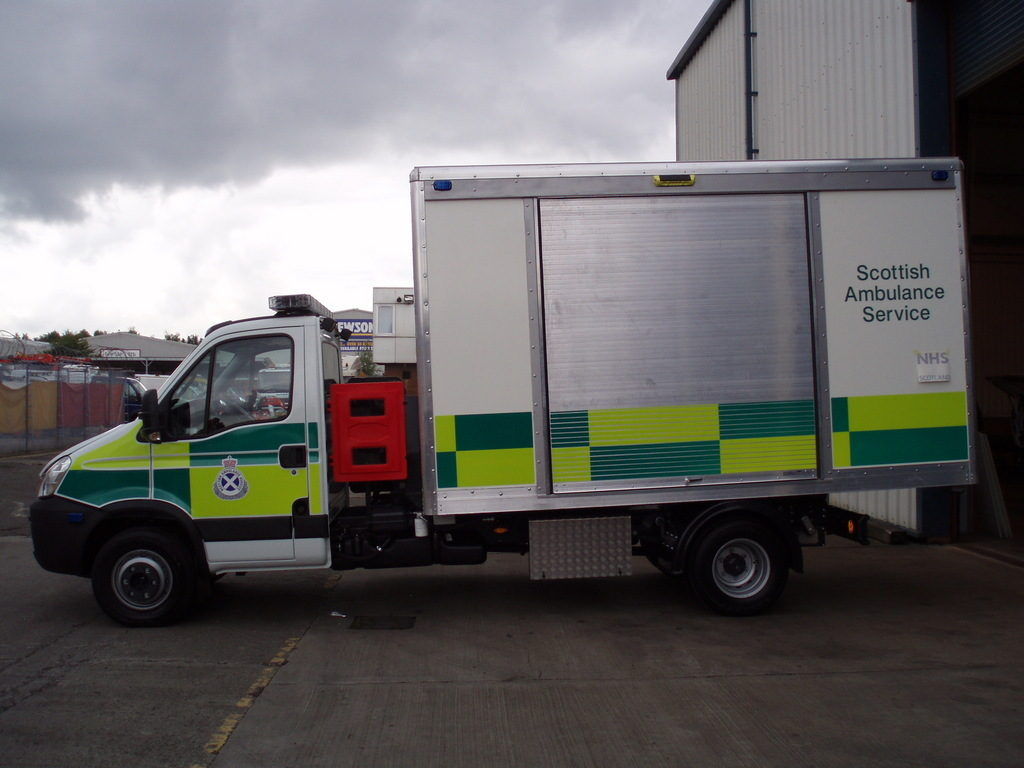 Specialist vehicle bodies for utilities for local authorities