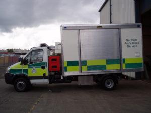 custom emergency services vehicle bodies