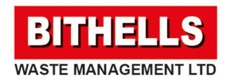 Bithells Waste Management Ltd logo testimonial