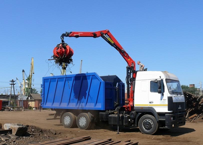 Recycling and waste epsilon crane