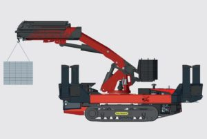 crawler crane pick and carry functionality