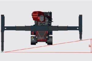 crawler crane heavy duty stabilisers
